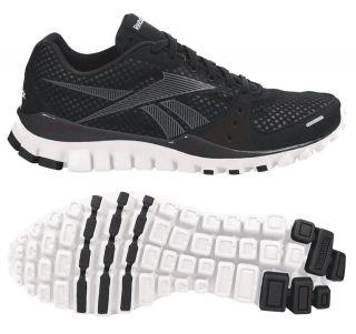 Reebok Womens REALFLEX Transition Cross Training Shoe Black/White