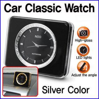 Kcompas CAR Classic Analog Watch Clock LED Light Interior for Car
