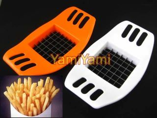 Potato Chip Stainless Steel Fries Cutter Slicer Chopper Party Kitchen