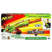 NEW Nerf N Strike Longstrike CS 6 Blaster   Sonic Series