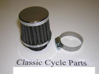 Yamaha DT50 RD50 50cc Custom Chrome Air Filter 28mm