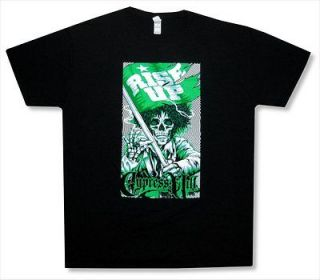 CYPRESS HILL   RISE UP PSYCHADELIC BLACK T SHIRT   NEW ADULT X LARGE