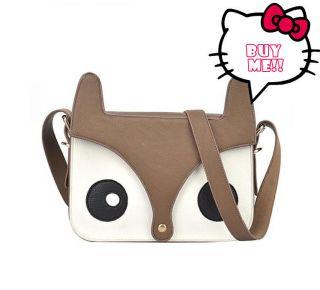 Fox Messenger Shoulder Bag Exclusive Handbag Satchel Student School