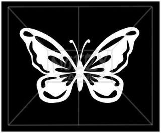 CUTE PRETTY GIRLY VINYL CAR STICKER DECAL BUTTERFLY