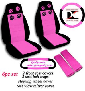 paw print car seat covers in Seat Covers