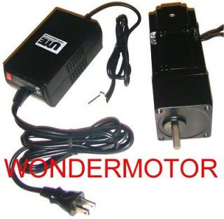 110v AC ECM PMDC Gear Motor REVERSIBLE Variable Speed