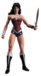 League New 52 Wonder Woman Action Figure DC Direct Toys Jim Lee
