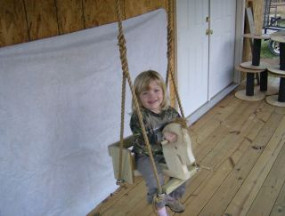 Toddler Horse Tree Swing and 10 Feet of Rope Per Side