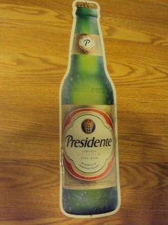 Presidente Cerveza Pilsener Type Beer Tin Sign  Brand New
