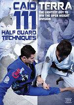 111 Half Guard Techniques 3 DVD Jiu Jitsu Gracie Deep
