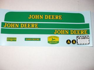 john deere pedal tractor decals in Modern Manufacture (1970 Now