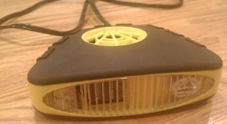 Rubberized 12 Volt car/Auto Heater/Defroster with fan great condition