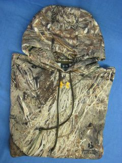 Armour Hoodie XXL Deer Duck Goose Hunting Mossy Oak Duck Blind Camo