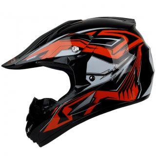 PGR X25 ORANGE COBRA Kids BMX MTB DH X Game Mountain Bike DOT Helmet