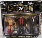 WWE Classic Superstars figure 3 pack wrestling Ric Flair Bobby Heenan