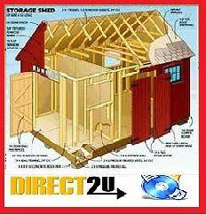 woodwork plans, Garden shed Plans + greenhouses, barns, Garages, log