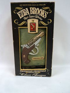 Ezra Brooks 1865 Derringer Decanter American Originals Classic