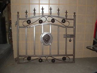 Wrought Iron Garden Gate Made by Ornamental Iron Made In The USA
