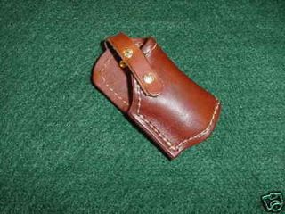 Cobra Derringer, Leather belt Holster ,Large frame