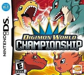 Digimon World Championship    Nintendo DS DSi Xl 3DS   ic#726a
