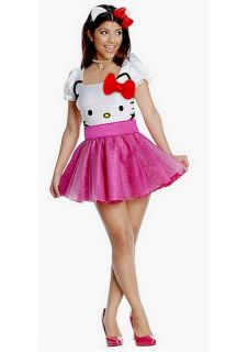 Hello Kitty Tutu Dress Adult Halloween Costume 889962