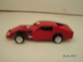64 ADC Red Blank Modified Dirt Race Car Diecast
