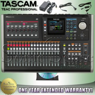 Tascam DP 24 24 Track Digital Portastudio Audio Recorder DP24 Extended