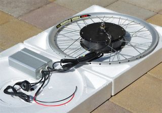 Newly listed Powerfull Electric Bike eBike Front Hub Motor Conversion