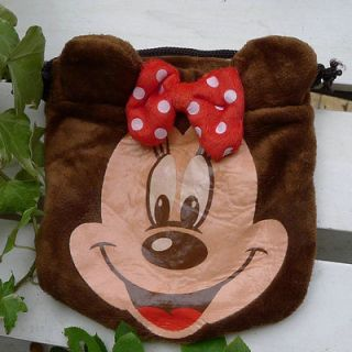 NEW ARRIVAL Disney baby Minnie mouse brown Candy bag/ pouch shoulder