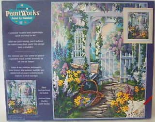 16 X 20 Paint By Number Kit Dimensions PaintWorks 91140 Garden Gate