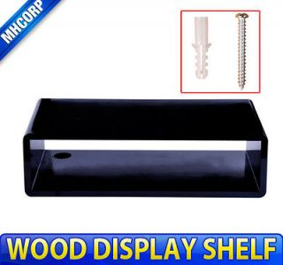 Wood Wall Display Shelves TV CABLE BOX Room Decor Home Furniture