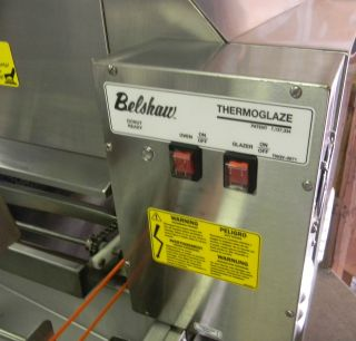 Belshaw Thermoglaze TG 50 DONUT PROCESSING OVEN AND GLAZER