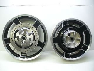 Harley 09 12 Touring Front & Rear Mag Wheels.