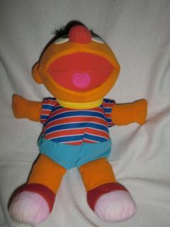 1996 TYCO Tickle Me Ernie Toy Sesame Street 12 Works Great!