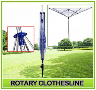 New Outdoor Portable Clothes Dryer Umbrella Clothesline Laundry Rack