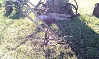 American Fork & Hoe Cultivator Tiller Garden Tool Push Plow