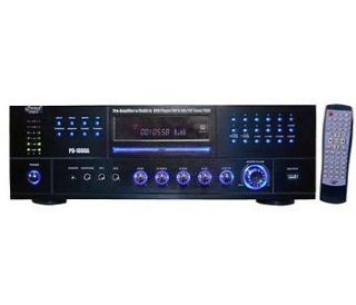 NEW PYLE Pro PD1000A 1000 Watt Stereo Receiver DVD CD Player AUX USB