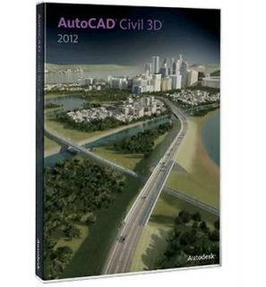 NEW] Autodesk AutoCAD Civil 3D 2012 Official Genuine 3 YEAR LICENSE