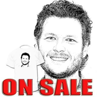 Blake Shelton T shirt Sugarland Lady Antebellum Drawings Are Available