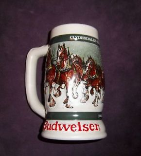budweiser in Drinkware, Steins