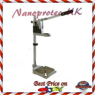 DRILL STAND FOR HAND HELD ELECTRIC DRILLS ROTARY MOUNTING PRESS PILLAR