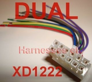 dual xd1222 wire harness wiring diagram ebook