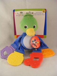 New Disney Baby Einstein Teethe & Tug Pals 0m+ Duck
