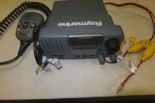 Raymarine RAY49E Fixed DSC Marine VHF Radio