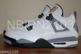 DS Nike Air Jordan IV 4 Retro 10.5 White Cement 2012 Concord Space Jam