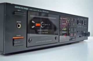 Onkyo Stereo Cassette Deck Tape Player Recorder TA 2044