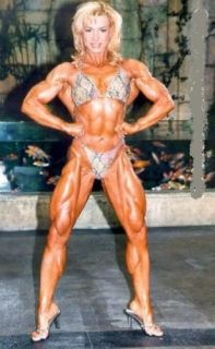 Bodybuilding DVD   WOMEN POSING & FLEXING Female Bodybuilder Valentina