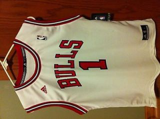 Derrick Rose Home Adidas Chicago Bulls Jersey