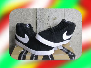 bc0a26ebe5b ... Nike SB Blazer High Venom Black White DS Sz 10.5 new 310801 011 ...