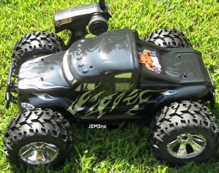 Redcat Racing EARTHQUAKE 3.5 1/8 SCALE R/C NITRO MONSTER TRUCK and